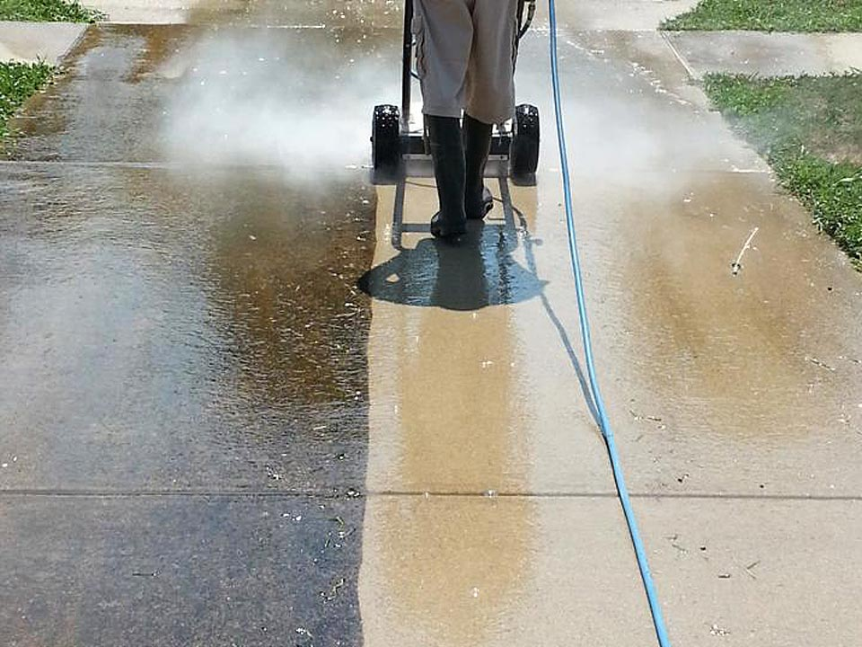 Pressure Washing Service by TFM Services